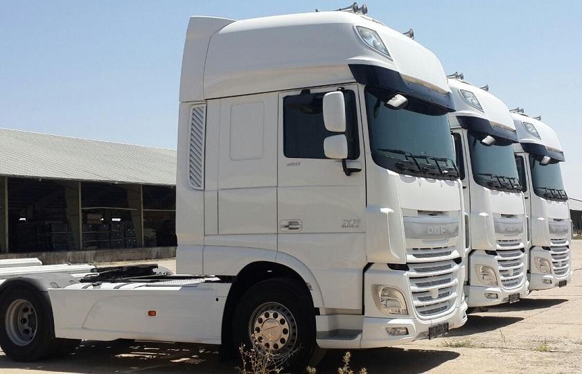 واردات کامیون های کارکرده خارجی
