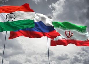 تزانزیت مبادلات هند ایران روسیه چابهار