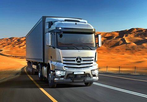 واردات کامیون بنز