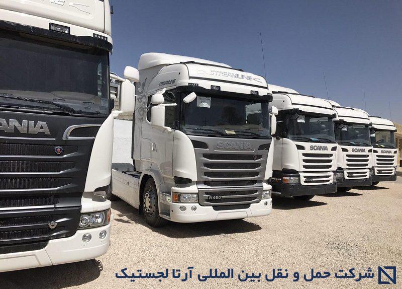نوسازی ناوگان واردات کامیونهای کارکرده