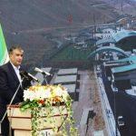 افتتاح سالن مسافری پایانه مرزی سرو با حضور وزیر راه شهرسازی