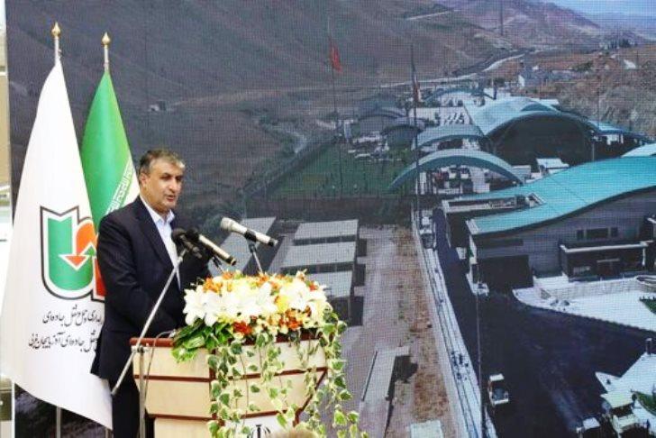 افتتاح سالن مسافری پایانه مرزی سرو باحضور وزیر راه شهرسازی