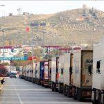 محدودیت پذیرش کامیون های ایرانی توسط ترکیه