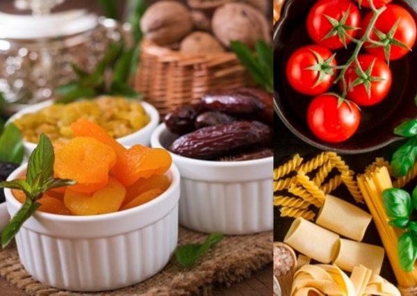 صادرات محصولات خشکبار و ماکارونی و رب گوجه فرنگی